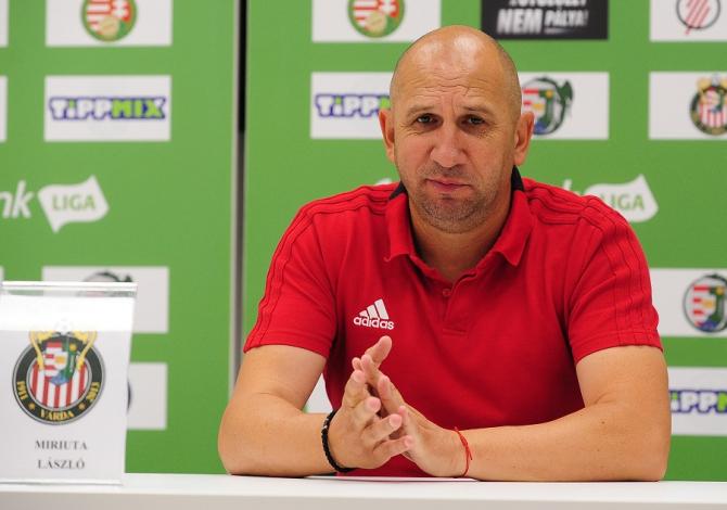 Vasile Miriuță, demis de la Kisvarda. foto: kisvardafc.hu