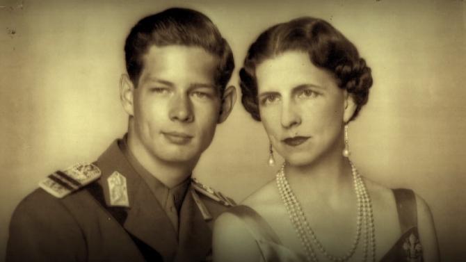 Regele Mihai și Regina-mamă Elena. foto: captură video youtube