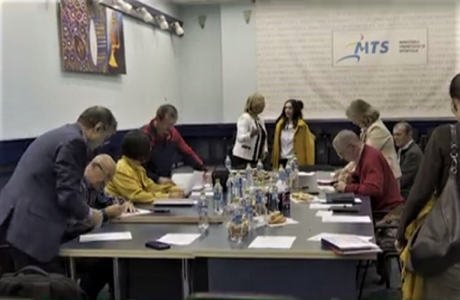 Federația de Gimnastică a avut astăzi Comitetul Executiv.