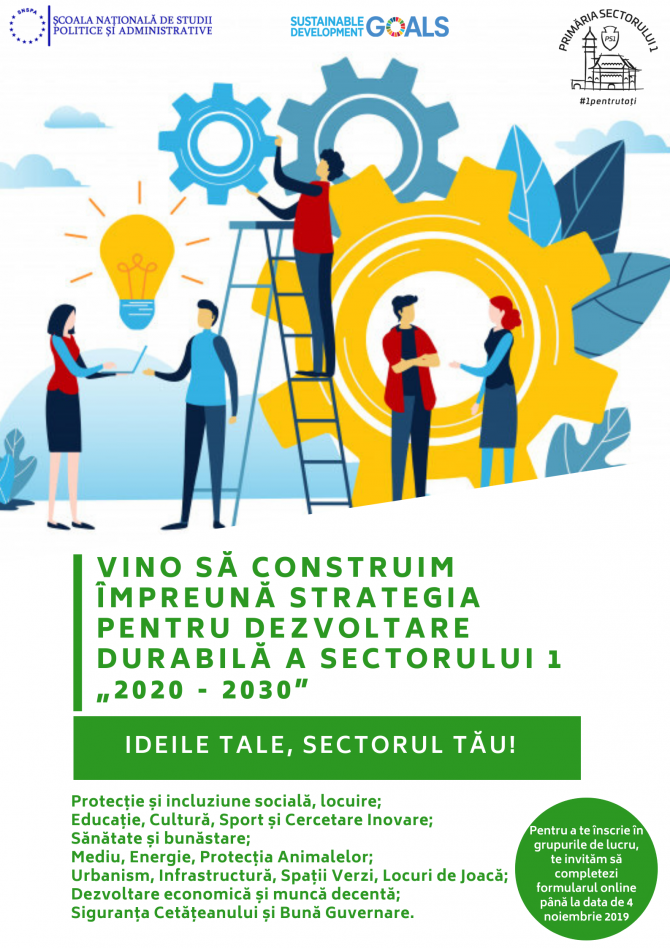 Strategie dezvoltare Sectorul 1