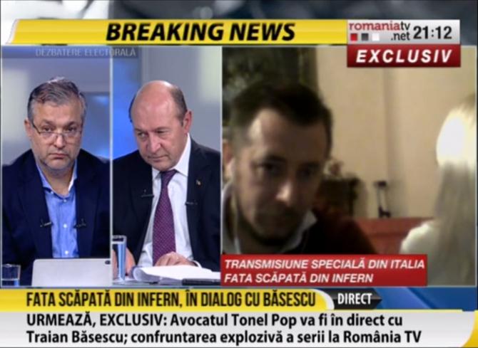 Traian Basescu - dezbatere electorala