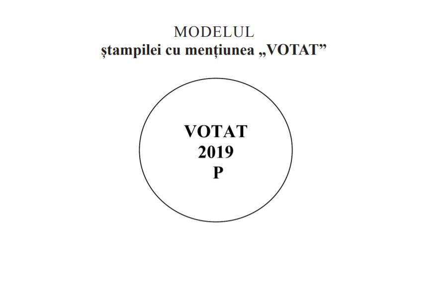 Stampila VOT prezidentiale