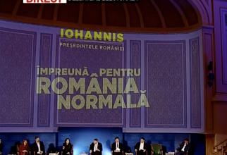 Iohannis - întrebări sală