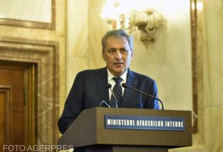 Marcel Vela - ministru de Interne. Foto: Agerpres.