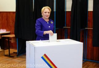 Viorica Dăncilă, vot