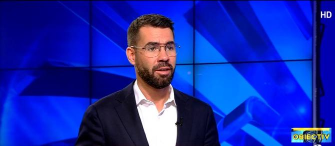 Alex Coita în platoul Antena 3