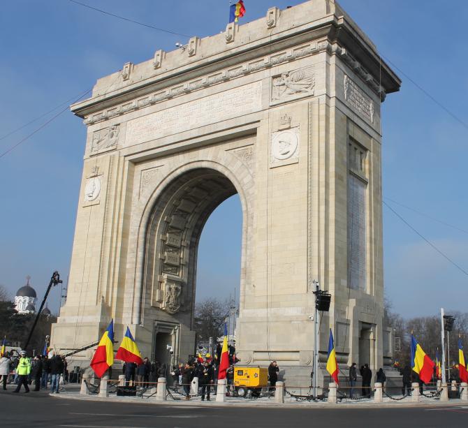 Arcul de Triumf  Photo: Crișan Andreescu
