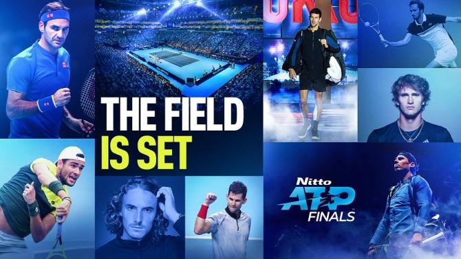 Turneul campionilor 2019. foto: @ATPTour - FB