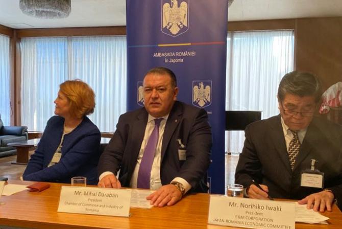 Mihai Daraban: România are nevoie să stabilească noi contacte de business cu Japonia