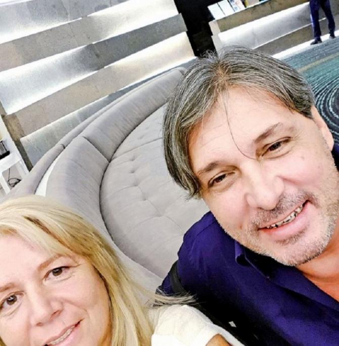 Cornel Galeș și Viviana