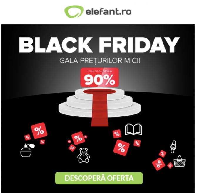 Black Friday 2019, elefant.ro