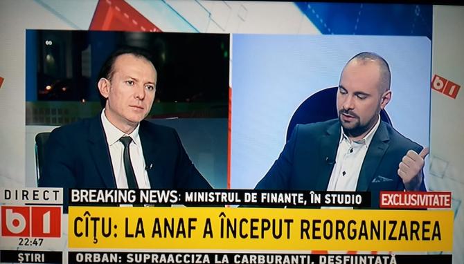 Florin Cîțu la B1 TV