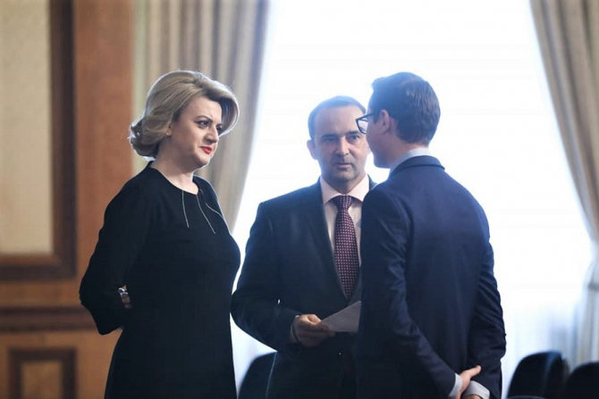 Guvern Orban: Gabriela Ciot a demisionat. foto: Facebook