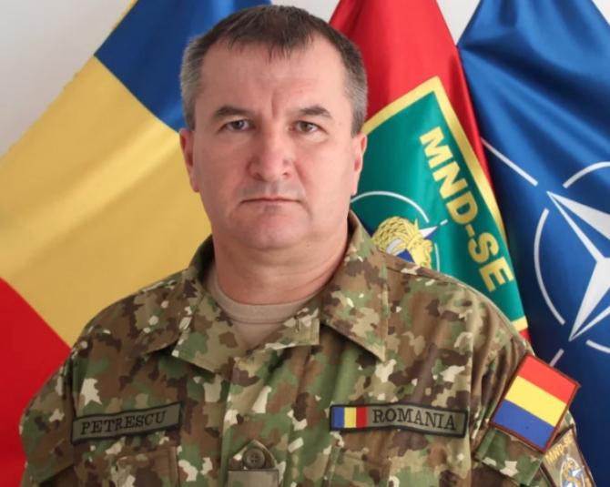 Generalul Daniel Petrescu, noul șef al Statului Major