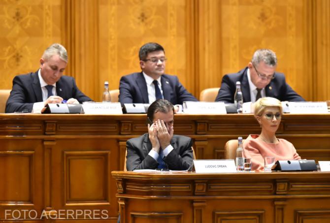 Guvernul Orban, votat de Parlament