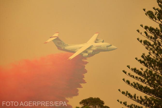 Incendii devastatoare în Australia. Foto: Agerpres.
