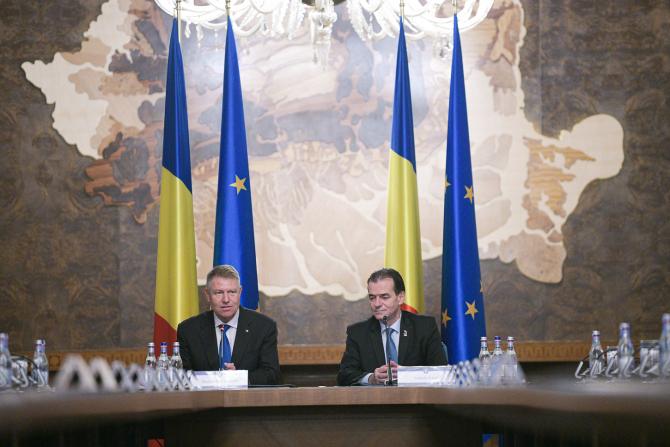Klaus Iohannis și Ludovic Orban / FOTO Administrația Prezidențială