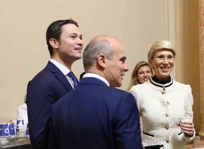 Raluca Turcan și Rareș Bogdan