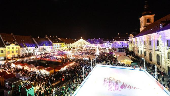 Târgul de Crăciun de la Sibiu. Foto: organizatori