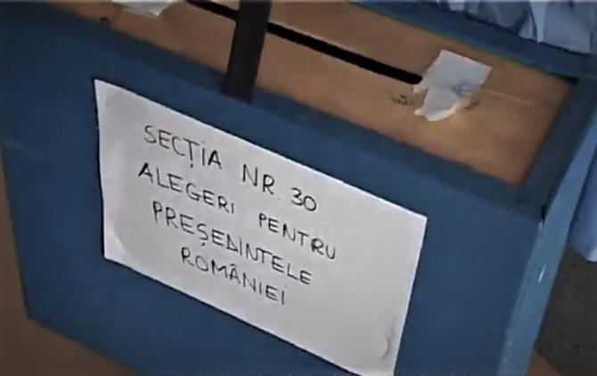 Prezidențiale 2019 URNA SPECIALĂ de vot - Cine o poate solicita și când. foto: captură video youtube