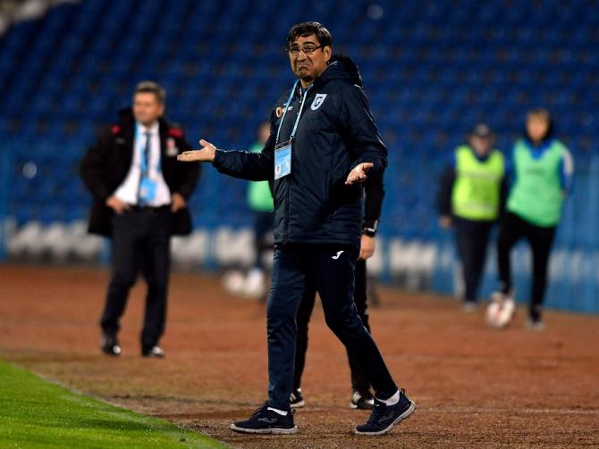 Victor Pițurcă, propus selecționer la națională. foto: @UCVOficial - FB