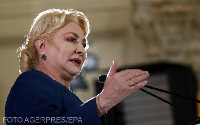 Viorica Dăncilă FOTO Agerpres / EPA