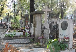 Aleea Scriitorilor din Cimitirul Bellu Foto: Crișan Andreescu