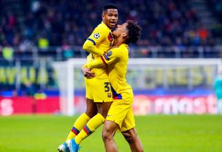 Ansu Fati, cel mai tânăr marcator în Champions League. foto: @fcbarcelona - FB