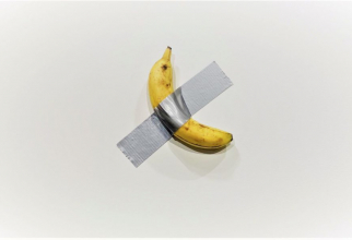 Banaa de 120.000 de dolari. foto: news.artnet.com