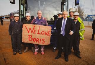 Boris Johson căștigător în Marea Britanie. foto: Boris Johnson @borisjohnson - FB