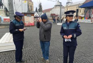 Campanie Poliția Română 'Hoții îți invadează intimitatea' Cluj-Napoca
