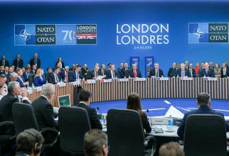 Klaus Iohannis - Summit NATO Londra  FOTO: Administrația Prezidențială