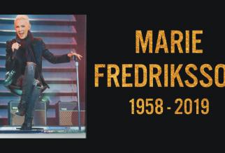 Marie Fredriksson a murit. Solista Roxette avea 61 de ani