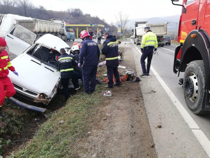 Accident Cluj FOTO: ISU Cluj