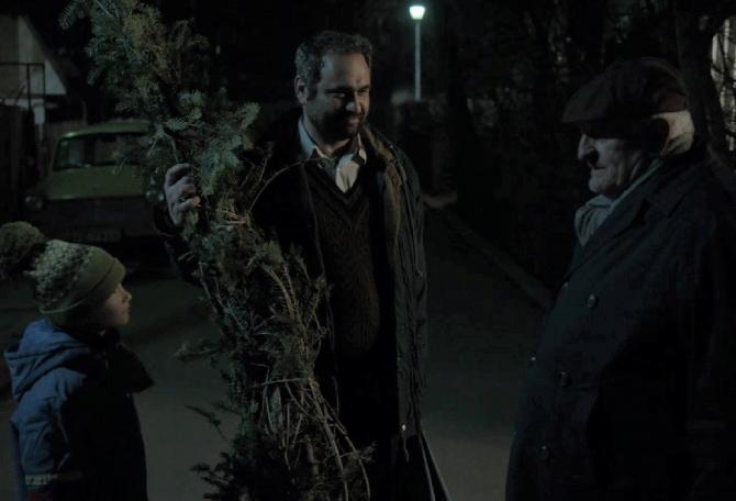 """""""Cadoul de Crăciun"""", un film cu Celentano, favorit la Oscar. foto: Bogdan Mureșanu, Facebook"""