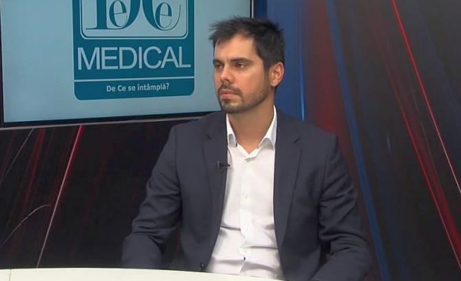 Dr Gabriel Rîcu. Foto: DC Medical