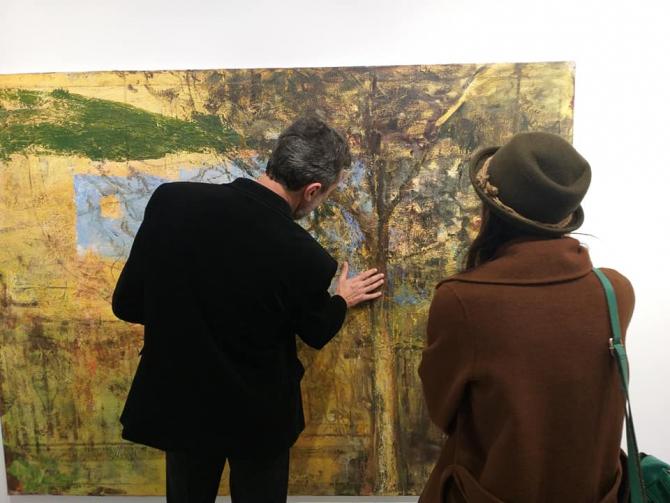 Galerie de artă contemporană, la demisolul bisericii Sf.Ilie din Cluj-Napoca