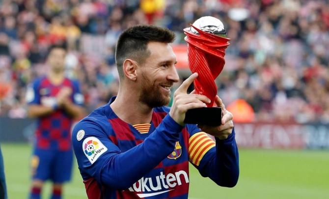Leo Messi, Barcelona. foto: @leomessi - FB