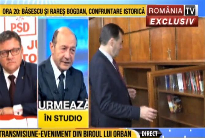 Ludovic Orban si-a prezentat biroul la Romania TV