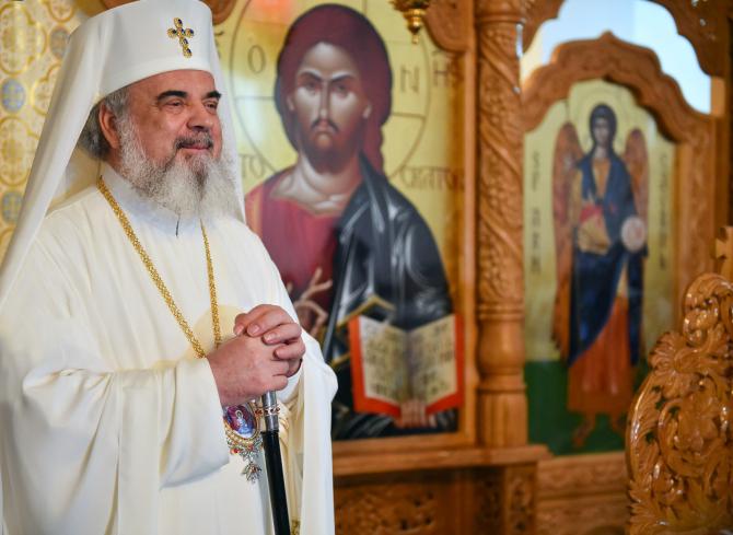 Patriarhul Daniel,  la aniversarea onomasticii  Foto: Basilica.ro