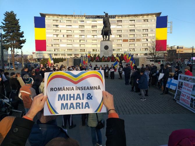 Protest de solidaritate cu familia Smicală - 1 decembrie 2019 Cluj-Napoca