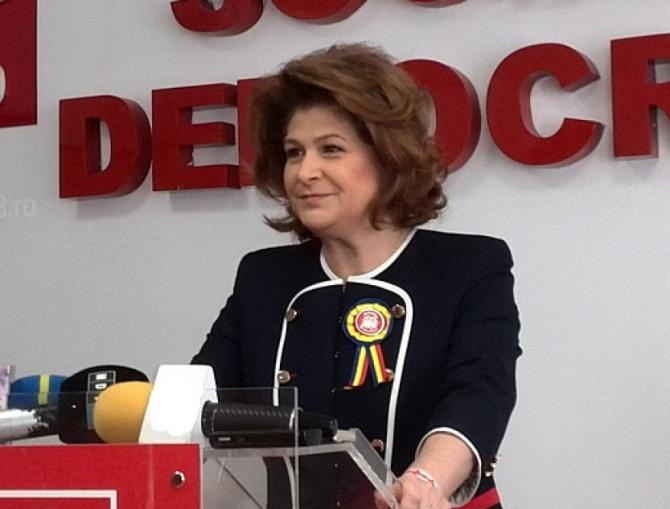 Rovana Plumb, liderul PSD Dâmbovița