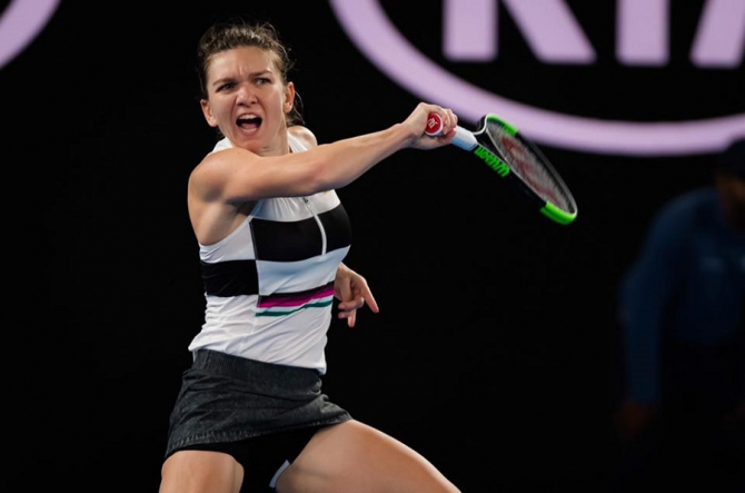 Simona Halep, turneu tenis. foto: @simonahalep - FB