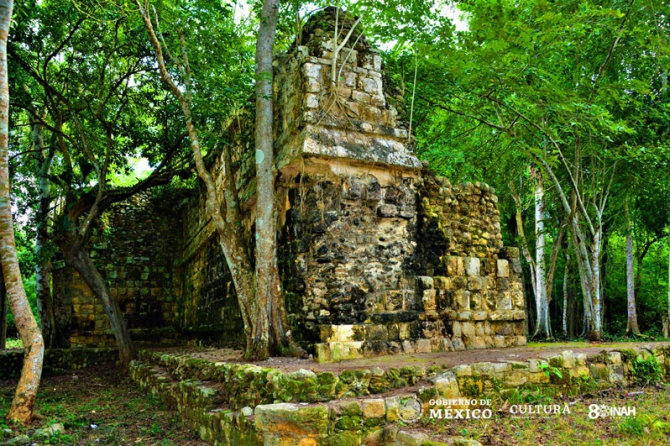 Mexicanii au descoperit un străvechi palat mayaș. foto: inah.gob.mx