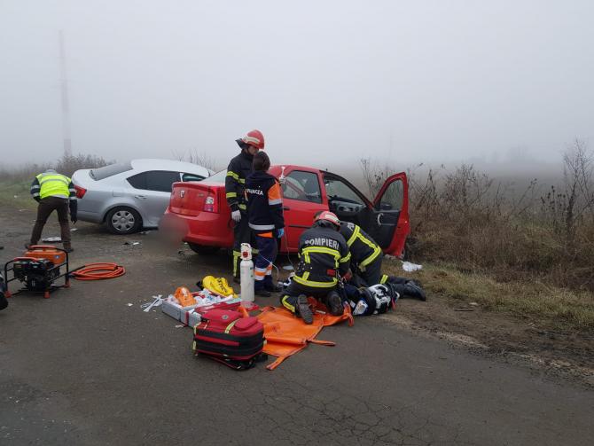 Accident grav. Foto: ISU Vrancea