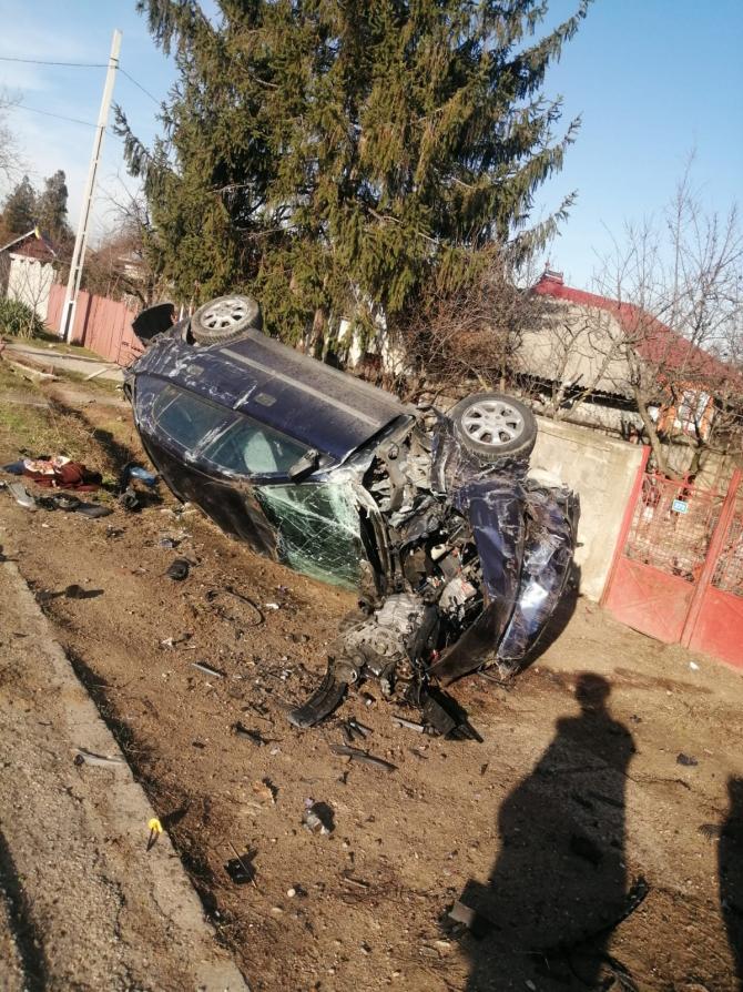 Accident grav. Foto: IPJ Olt