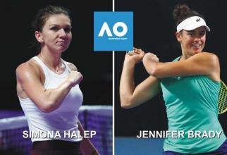 Simona Halep - Jennifer Brady | Turul 1 Australian Open 2020 - rezultat