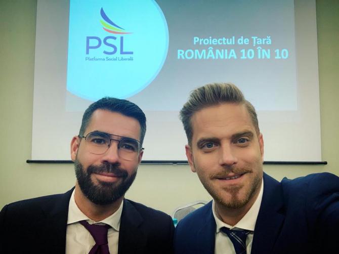 Alex Coita și Ilan Laufer / Foto Facebook