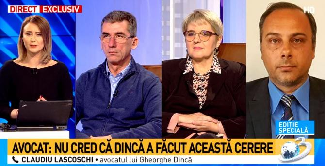 Av. Lascoschi, BOMBĂ despre cererea lui Dincă. Maria Vasii și Tonel Pop, intervenții fulger