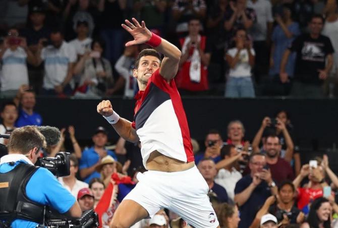 Serbia a ajuns în finala ATP Cup. Djokovic, erou la Sydney foto: @djokovicofficial - FB